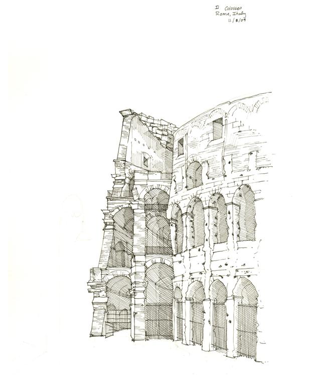 Cook-Sketch-Roman_Coliseum_sized