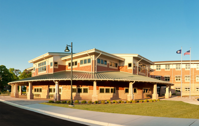 Platinum award for virginia beach middle school hba - Interior design certification virginia ...